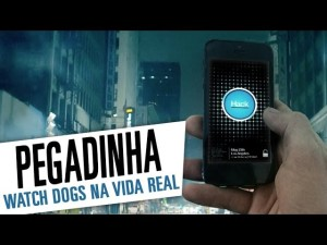 Watch Dogs - Pegadinha Promocional